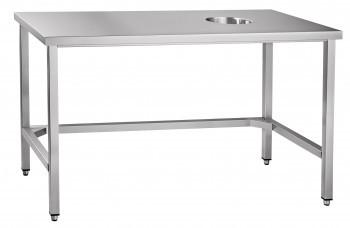 Стол для сбора отходов ССО-4 (1400x700x860 мм) вся нерж.