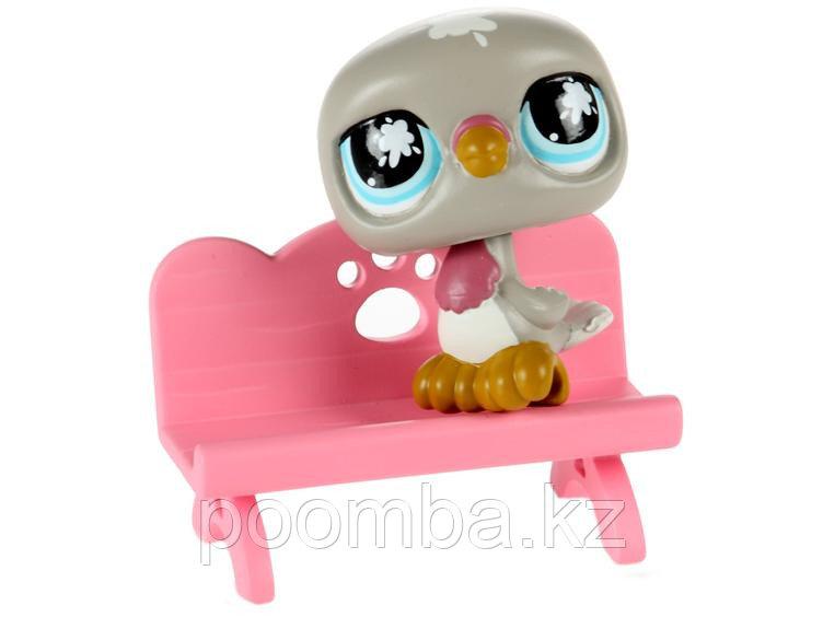 Littlest Pet Shop - Голубь со скамейкой