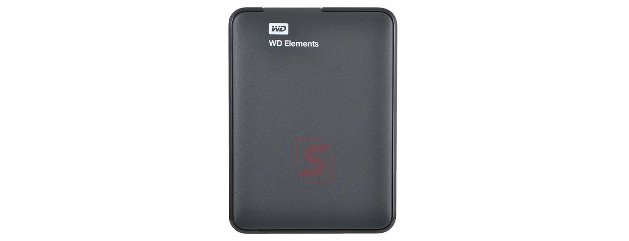 "Внешний HDD Western Digital 1Tb Elements Portable 2.5"" WDBUZG0010BBK-WESN USB3.0"