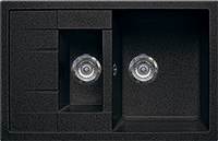 Кухонная мойка Gran-Stone GS 21K 308 черный