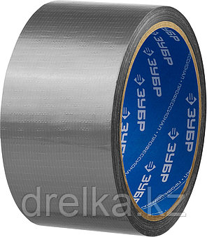 Армированная лента, ЗУБР Профессионал 12090-50-10, универсальная, влагостойкая, 48мм х 10м, серебристая, фото 2