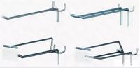Крючки для торгового оборудования (хроматированный цинк)