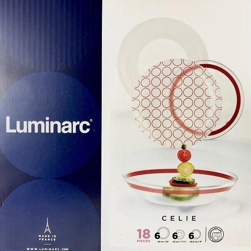 Столовый сервиз Luminarc Celie 18 предметов на 6 персон