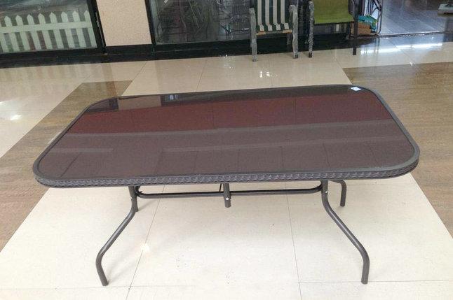 Стол обеденный 70*152*90 (искусственный ротанг), фото 2