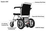 Инвалидная коляска электр. Вес 18 Кг. Gentle 120C, 24v  300w. Аккум.  Li-ion 24v 5,8 A/H, фото 3