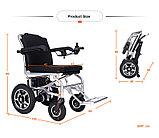 Инвалидная коляска электр. Вес 18 Кг. Gentle 120C, 24v  300w. Аккум.  Li-ion 24v 5,8 A/H, фото 5