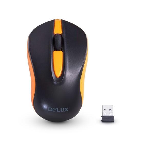 Компьютерная мышь Delux DLM-137OGB - фото 1