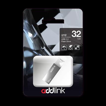 USB Флеш Накопитель Addlink 32GB 2.0 ad32GBU10G2 серый, фото 2