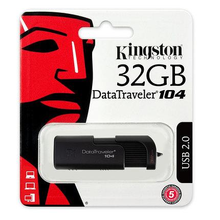 USB Флеш Накопитель Kingston 32GB 2.0 DT104/32GB, фото 2