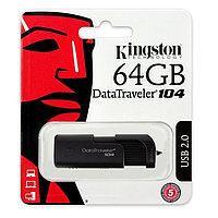 USB Флеш Накопитель Kingston 64GB 2.0 DT104/64GB