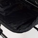 Прогулочная коляска YOYA PLUS 4 2019 Темно-серый черная рама, фото 7