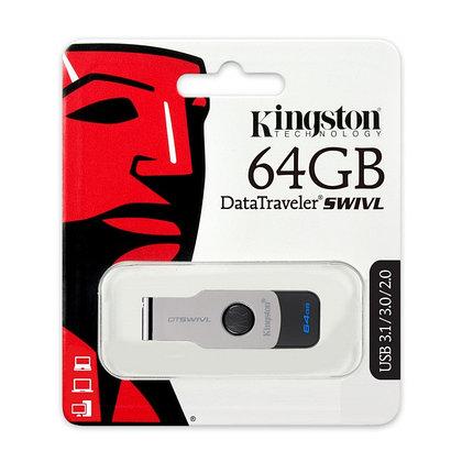 USB Флеш Накопитель Kingston 64GB 3.0 DTSWIVL/64GB, фото 2