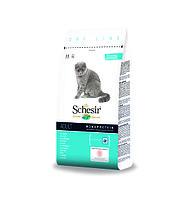 SCHESIR MAINTENANCE сухой корм 10кг для кошек с белой рыбой, фото 1
