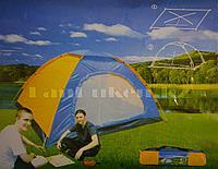 Пятиместная однослойная палатка 200*200*135см