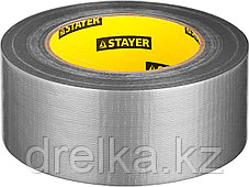 Армированная лента, STAYER 12080-50-50, универсальная, влагостойкая, 48мм х 45м, серебристая, фото 3