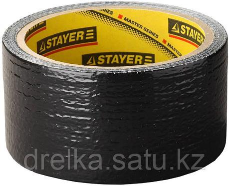 Армированная лента, STAYER Professional 12086-50-10, универсальная, влагостойкая, 48мм х 10м, черная, фото 2