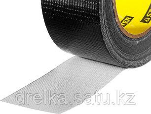 Армированная лента, STAYER Professional 12086-50-25, универсальная, влагостойкая, 48мм х 25м, черная, фото 2
