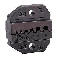 Номерные матрицы для опрессовки изолированных и неизолированных штыревых втулочных наконечников - МПК-02 КВТ МПК-02
