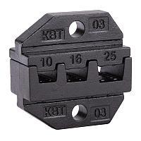 Номерные матрицы для опрессовки изолированных и неизолированных штыревых втулочных наконечников - МПК-03 КВТ МПК-03