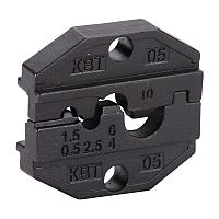 Номерные матрицы для опрессовки неизолированных медных наконечников и гильз - МПК-05 КВТ МПК-05