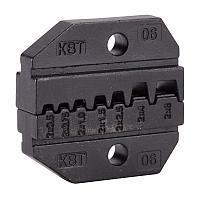Номерные матрицы для опрессовки двойных изолированных втулочных наконечников - МПК-06 КВТ МПК-06