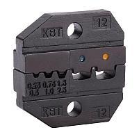 Номерные матрицы для опрессовки изолированных и втулочных наконечников - МПК-12 КВТ МПК-12