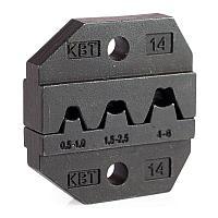 Номерные матрицы для опрессовки автоклемм под двойной обжим  - МПК-14 КВТ МПК-14