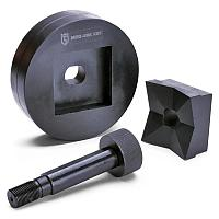 Штучные перфоформы для пробивки квадратных и прямоугольных отверстий - МПО КВТ МПО 68х68