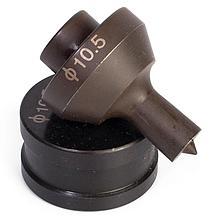 Матрицы для пробивки отверстий в шинах КВТ МПШО-10x17