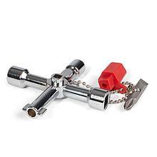 Ключ для электрошкафов с 5 профилями и битой «крест/шлиц» КЭШ-5