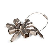 Ключ для электрошкафов с 10 профилями и битой «крест/шлиц» КЭШ-10