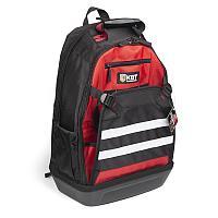 Рюкзак монтажника с внешним карман-клапаном и с пластиковым дном, серия «ПРОФИ» - С-18 КВТ С-18