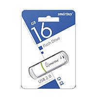 USB Флеш Накопитель UFD 2.0 Smartbuy 16GB Crown White