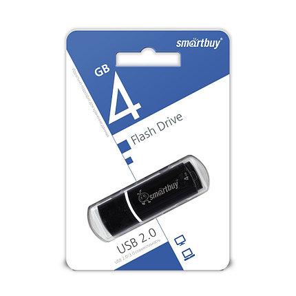 USB Флеш Накопитель UFD 2.0 Smartbuy 4GB Crown Black, фото 2