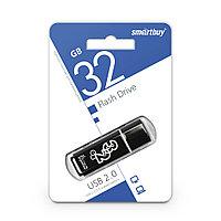 USB Флеш Накопитель UFD 2.0 Smartbuy 32GB Glossy Series Black