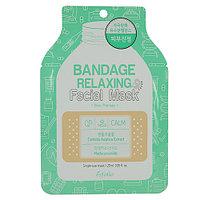 Маска тканевая Bandage Relaxing Facial Mask 25ml* (Esfolio)  Успокаивающая