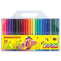 Фломастеры Каляка-Маляка 24 цвета 3+