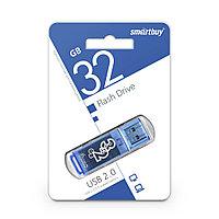 USB Флеш Накопитель UFD 2.0 Smartbuy 32GB Glossy Series Blue