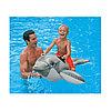 Надувная игрушка Intex 57525NP в форме акулы и дельфина для плавания, фото 4