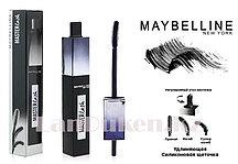 Тушь для ресниц с регулируемой щеточкой Maybelline MasterLash wide angle rotating brush Mascara