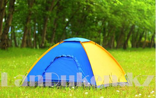 Пятиместная однослойная палатка 200*200*135см - фото 2