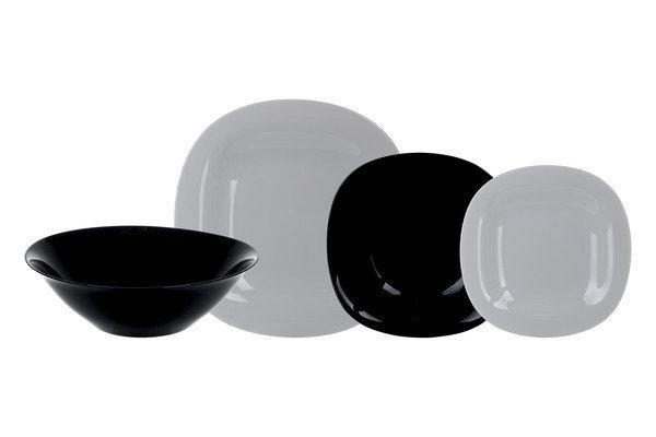Столовый сервиз Luminarc Carine granit&black 19 предметов на 6 персон