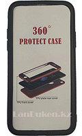 "Защитный чехол для Айфон Х (IPhone X) (черный) ""Fashion Case"" 360°"