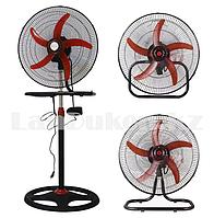 Вентилятор электрический Atlanta 3 в 1 напольный, настольный и настенный