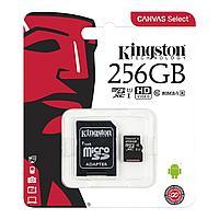 Карта памяти Kingston MicroCDXC 256GB Class 10 U1 SDCS/256GB