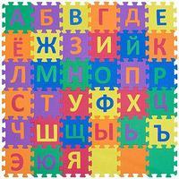 "Детский коврик-пазл с русским алфавитом Funkids ""Алфавит-3"" art. KB-001-36-NT, 01"