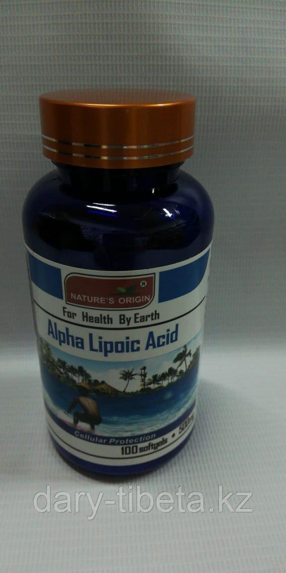 Капсулы Альфа-липоевая кислота - Alpha Lipoic Acid