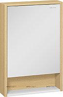 Шкаф зеркальный Уника 60 EDELFORM, белый с дуб гальяно, фото 1