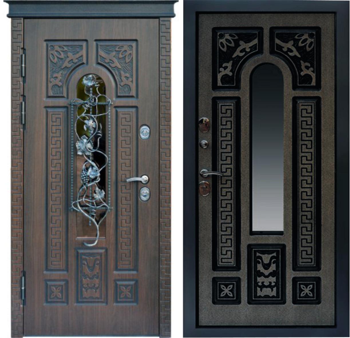Входная дверь Graf glass 3d