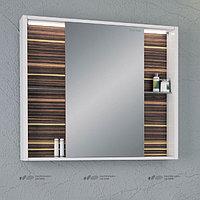 Зеркало-шкаф Edelform Belle 100 макассар, с подсветкой, фото 1